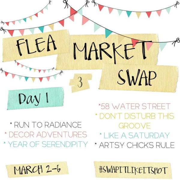 Thrifty Makeovers - Swap it like it's Hot Day 1 - Artsy Chicks Rule