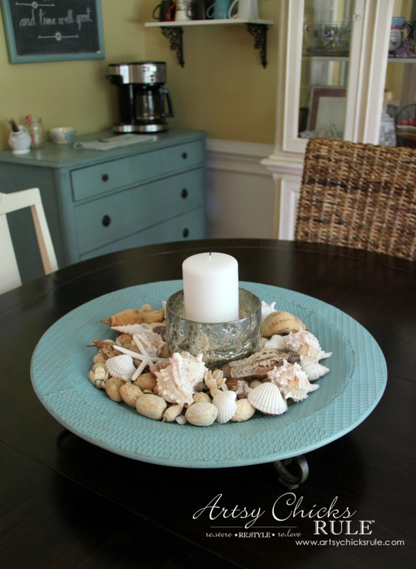 Decorating with Trays - Inspiration for using them in your home! - #beachdecor #homedecor artsychicksrule.com