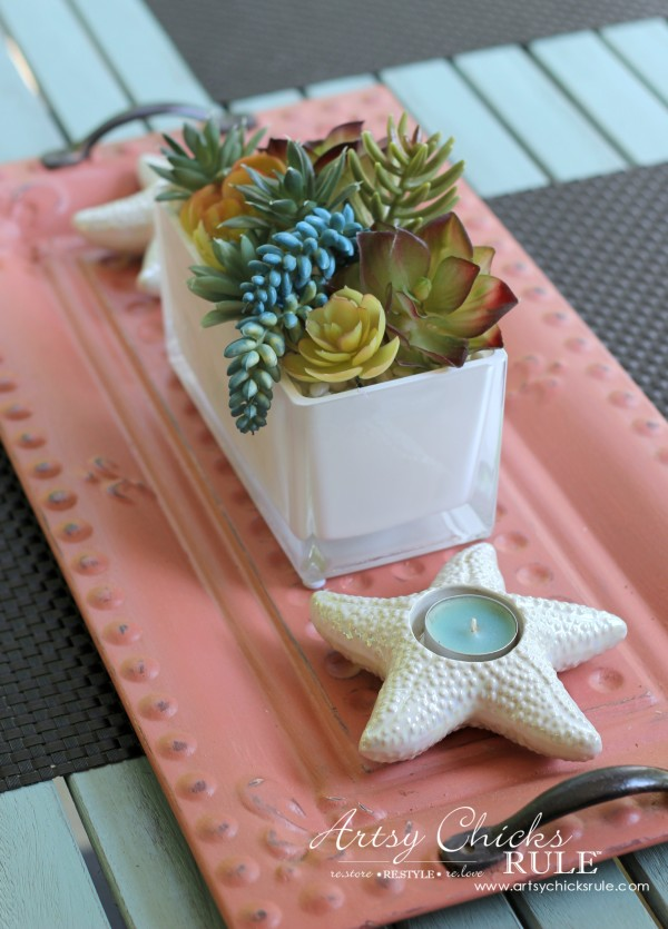 Decorating with Trays - Inspiration for using them in your home! - #homedecor artsychicksrule.com