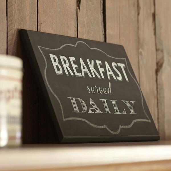Birch-Lane-Breakfast-Served-Daily-Plaque