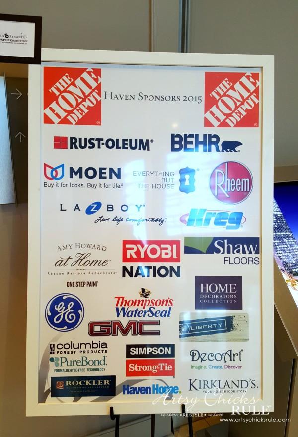 Haven Blogger's Conference 2015- Haven Sponsors - artsychicksrule