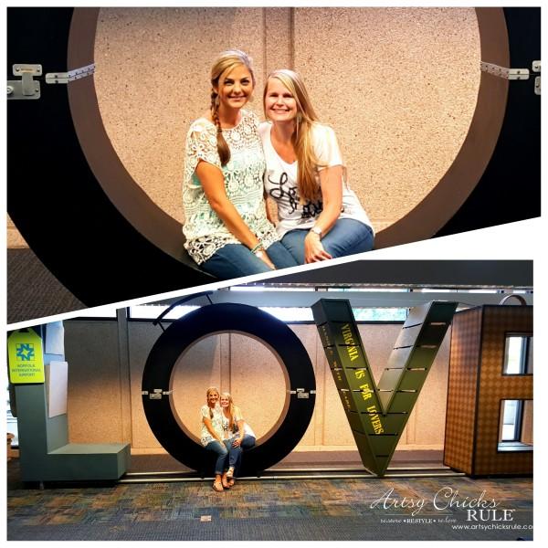 Haven Blogger's Conference 2015- Home at Last Norfolk LOVE Sign - artsychicksrule