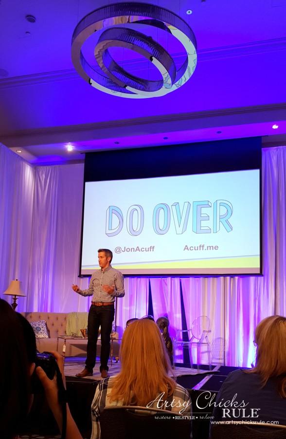 Haven Blogger's Conference 2015- Jon Acuff Presentation - artsychicksrule