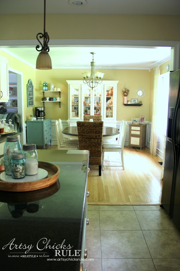 Kitchen Makeover - AFTER OPEN - #kitchen #Makeover artychicksrule