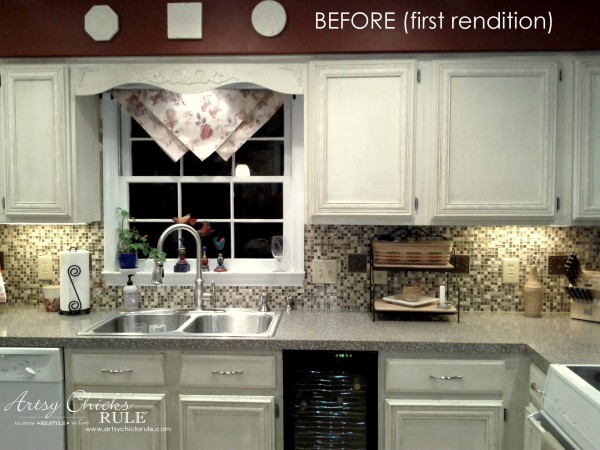 Kitchen Makeover - First Rendition too dark - #kitchen #Makeover artychicksrule