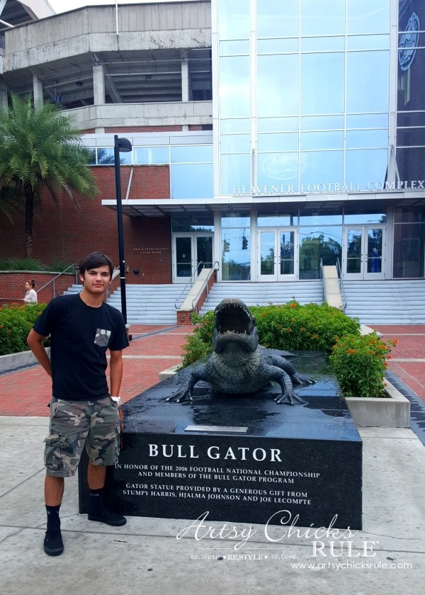 Anna Maria Island Florida Vacation - My son visiting U of Fla campus - artsychicksrule