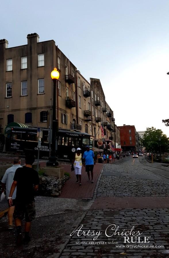 Savannah GA - Strolling historic River Street - artsychicksrule