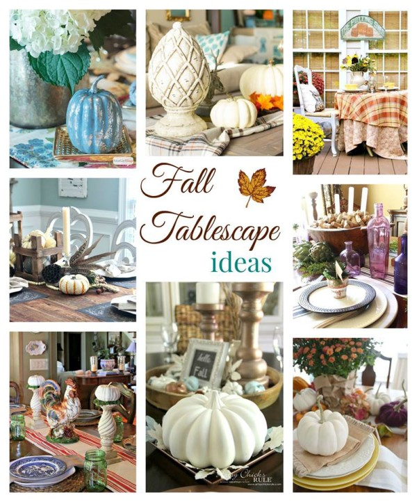 Fall Tablescape Ideas - artsychicksrule