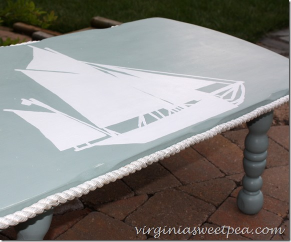 CoffeeTableMakeover - Sweet Pea