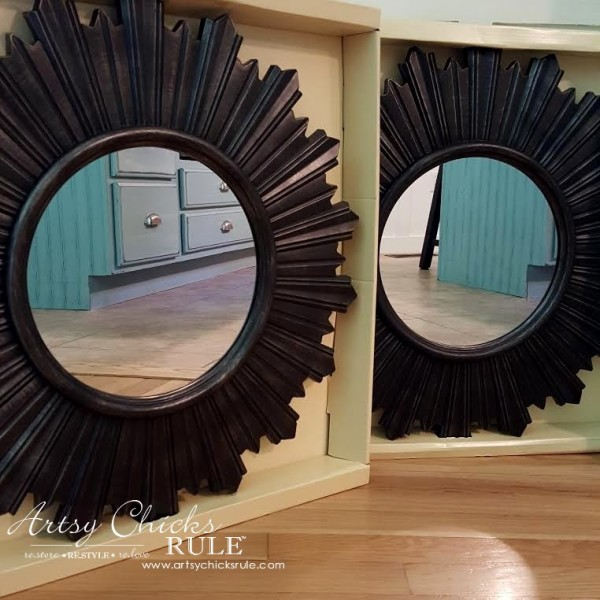 Master Bedroom Makeover on a Budget - $20 Mirrors TJMaxx Home Goods - artsychicksrule