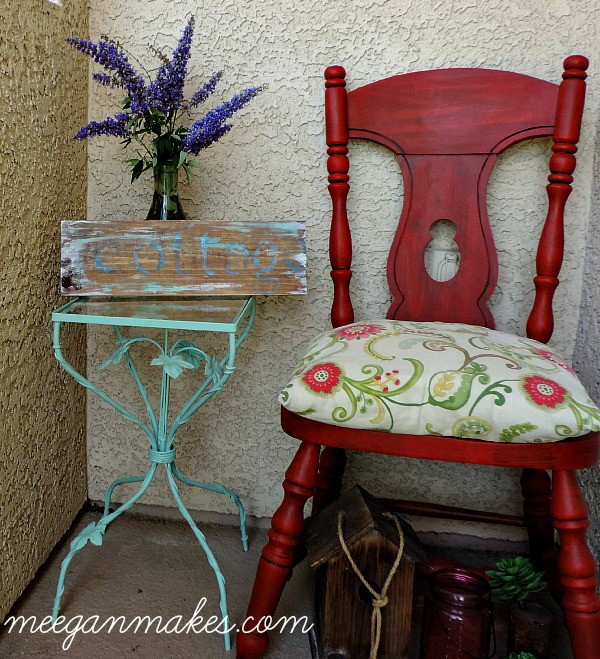 Small-Table-Makeover-using-Fusion-Mineral-Paint What Meegan Makes