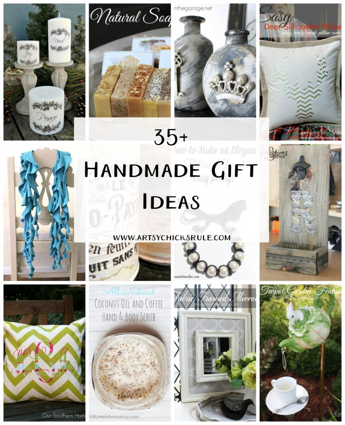 35+ Small, DIY Handmade Gift Ideas For You - Artsy Chicks ...