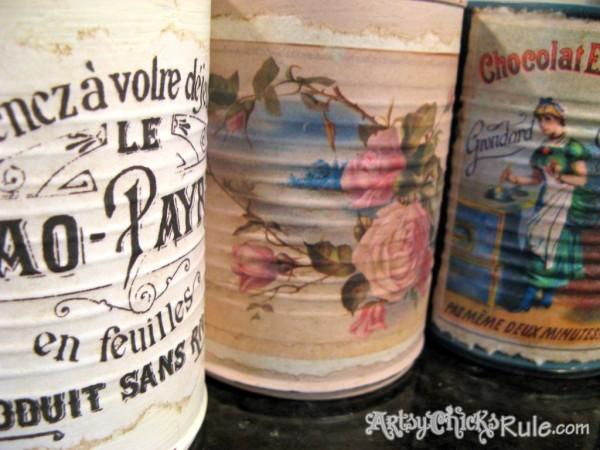 DIY-Decorative-Can-Craft-Artsy Chicks Rule
