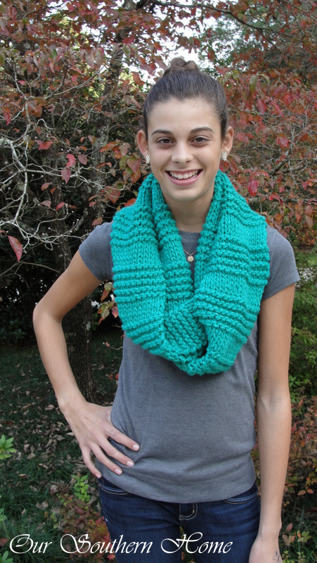 GreenInfinityScarf2 our southern home