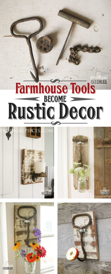 farmhouse-tools-rustic-decor Prodigal Pieces