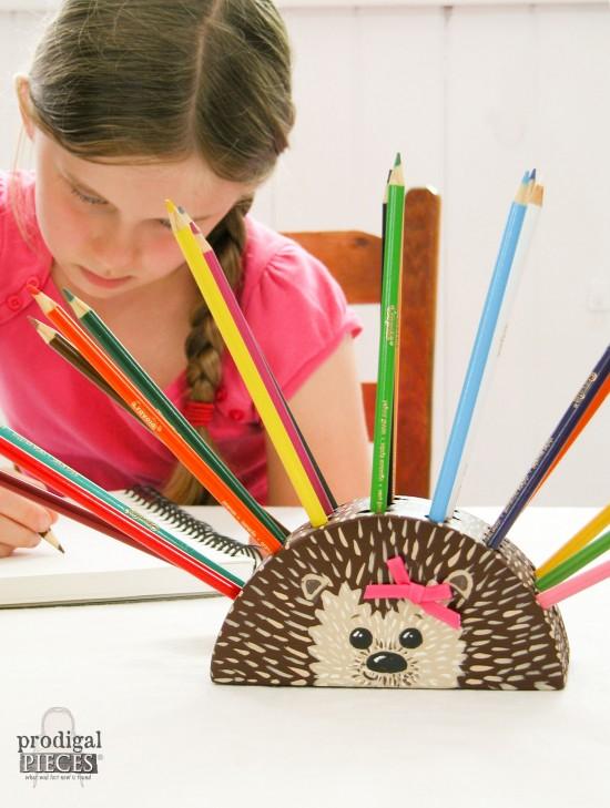hedgehog-girl-pencil-holder-Prodigal Pieces