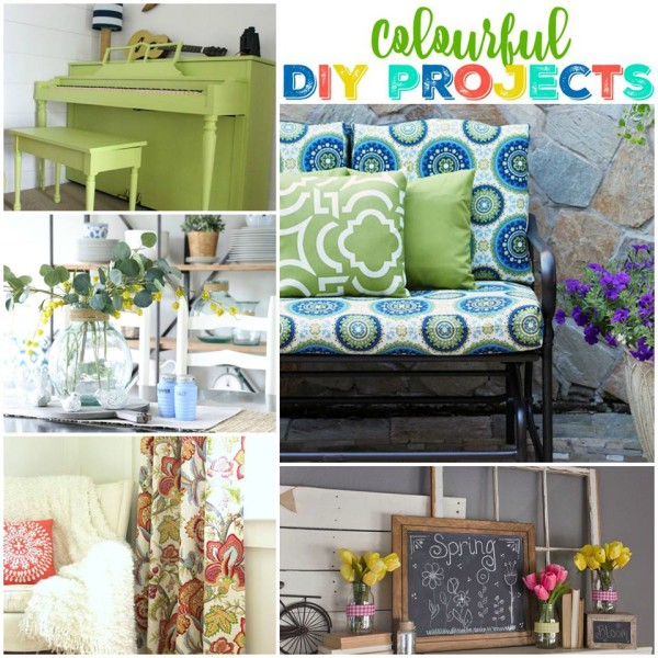 Colorful Theme - Get Your DIY On - artsychicksrule