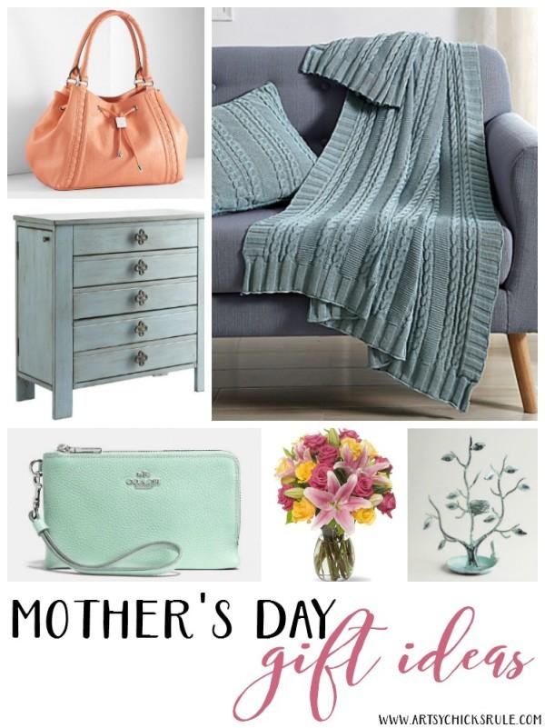 Mother's Day Gift Ideas - artsychicksrule #mothersdaygifts #giftideas