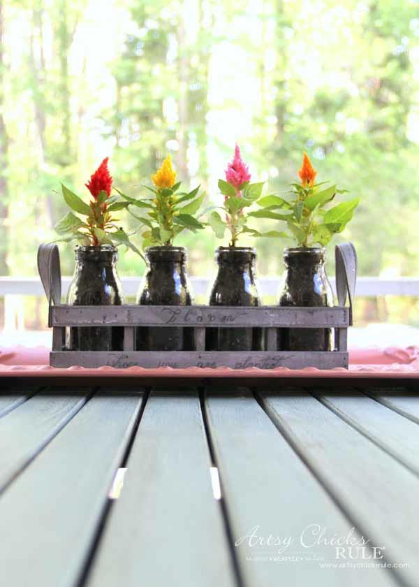 Decorating with Potted Plants - Unique Planter Ideas - CELOSIA - artsychicksrule #pottedplants #planterideas