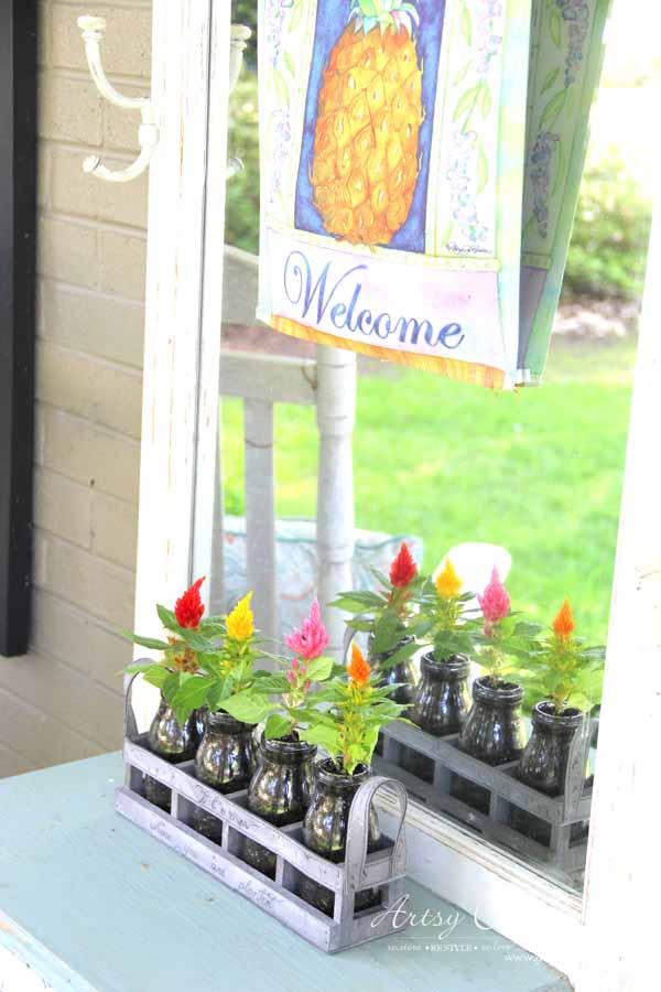 Decorating with Potted Plants - Unique Planter Ideas - DECORATING WITH PLANTS - artsychicksrule #pottedplants #planterideas