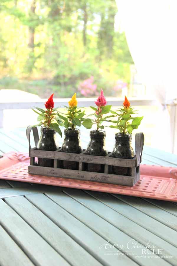 Decorating with Potted Plants - Unique Planter Ideas - IDEAS - artsychicksrule #pottedplants #planterideas