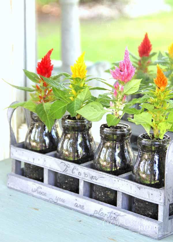 Decorating with Potted Plants - Unique Planter Ideas - SPRING IDEAS - artsychicksrule #pottedplants #planterideas