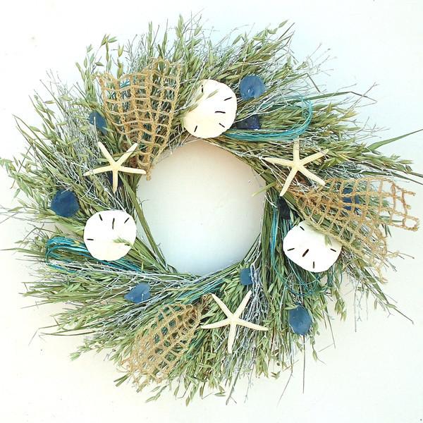 JossandMain Sea Grass Wreath