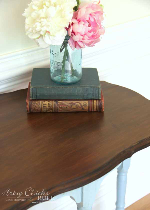 Side Table Makeover Amy Howard Paint Amp Dust Of Ages