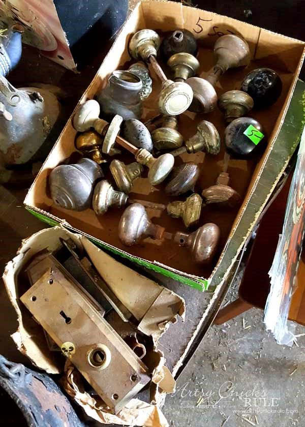 GMC & The World's Longest Yardsale - old knobs - artsychicksrule #worldslongestyardsale #gmc