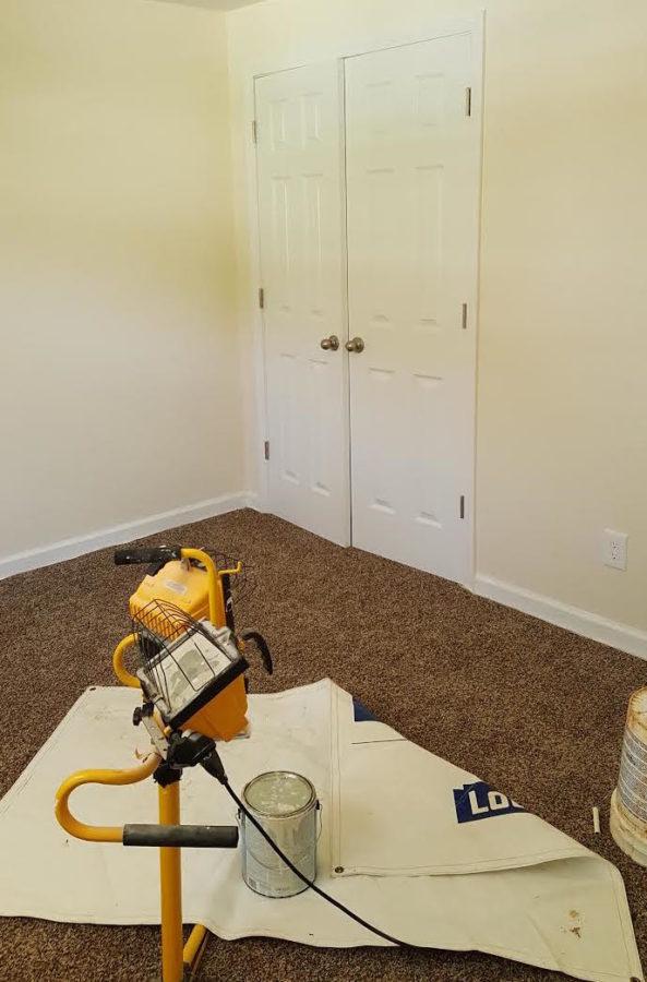 GMC Worlds Longest Yardsale - bedroom before - #artsychicksrule #worldslongestyardsale