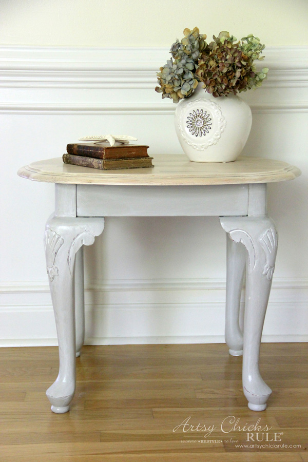 coastal-end-table-makeover-easy-makeover-general-finishes-chalk-paint-artsychicksrule-com