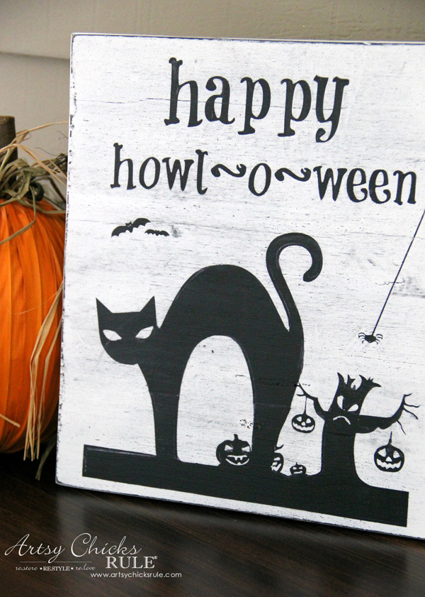 halloween-no-sew-flag-and-sign-3-silhouette-artsychicksrule-nosewflag-halloweendecor