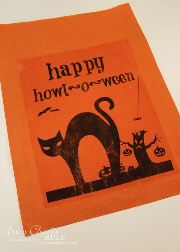 halloween-no-sew-flag-and-sign-iron-on-artsychicksrule-nosewflag-halloweendecor