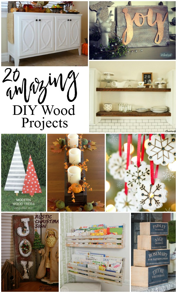 20 Amazing DIY Wood Projects | Confessions of a Serial Do-it-Yourselfer