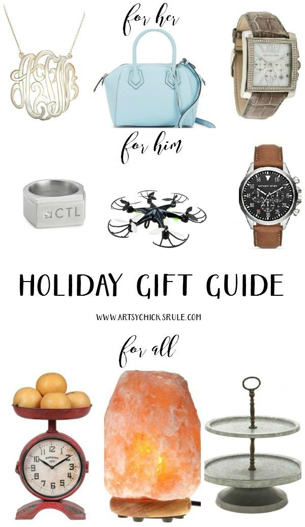 Holiday Gift Guide for Her, Him & All artsychicksrule.com