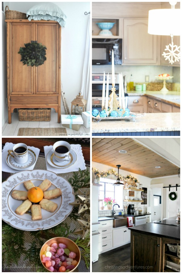 Christmas Home Tours Galore