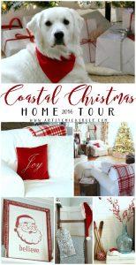 Coastal Christmas Home Tour 2016