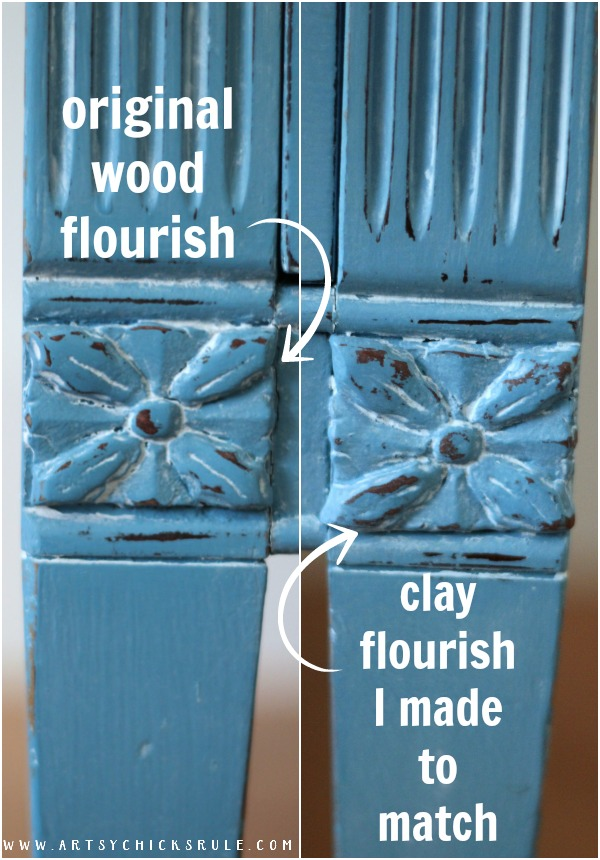 Make your own!! It's SO easy!! Giverny Chalk Paint Chest Makeover with White Wax - artsychicksrule.com