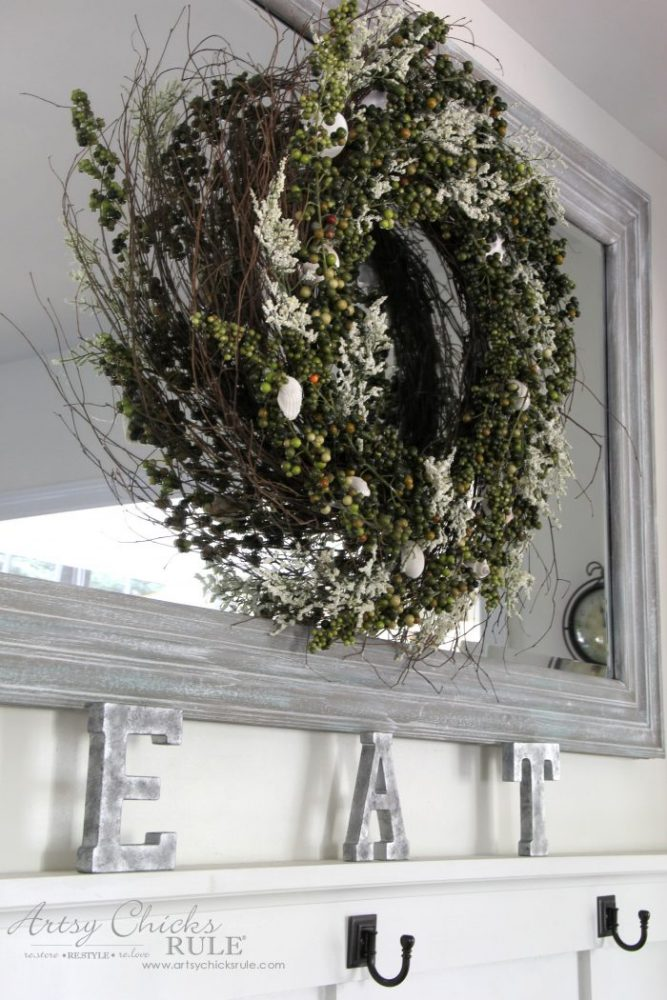 How to Create a DIY Galvanized Finish the EASY WAY! artsychicksrule.com #galvanized