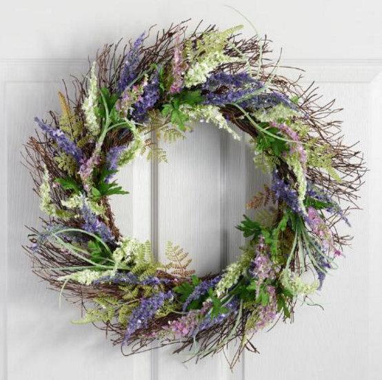 20+ Spring Wreath ideas - artsychicksrule.com