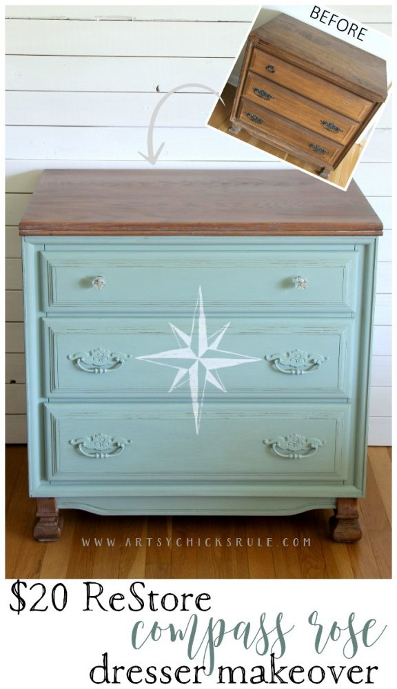 20+ MORE Furniture Makeovers YOU Can Do!! artsychicksrule.com