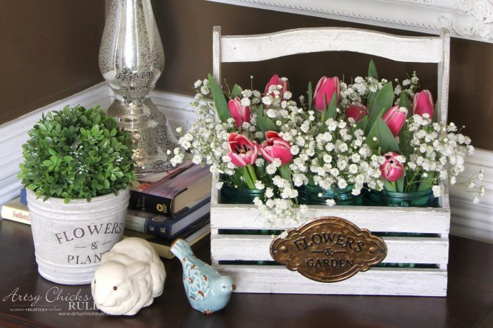 Bring Spring Inside (Decorating with Flowers)