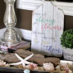 Simple DIY Spring Sign (you can make!)