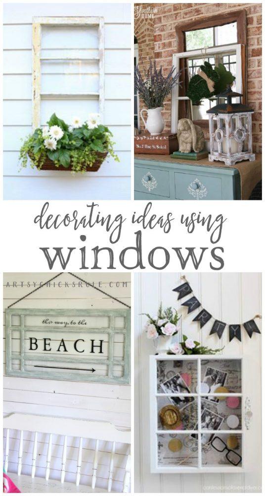 Decorating with Windows - Decorating Enthusiasts - artsychicksrule.com