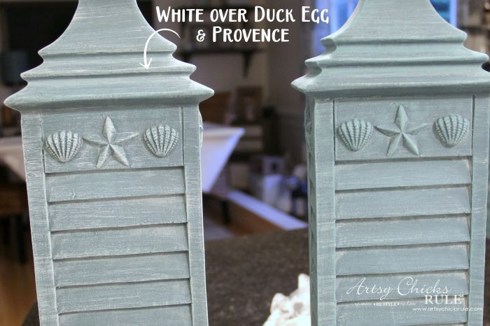 Simple Update with Chalk Paint - artsychicksrule.com #chalkpaint