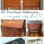 20+ More Furniture Makeovers – You Can Do!