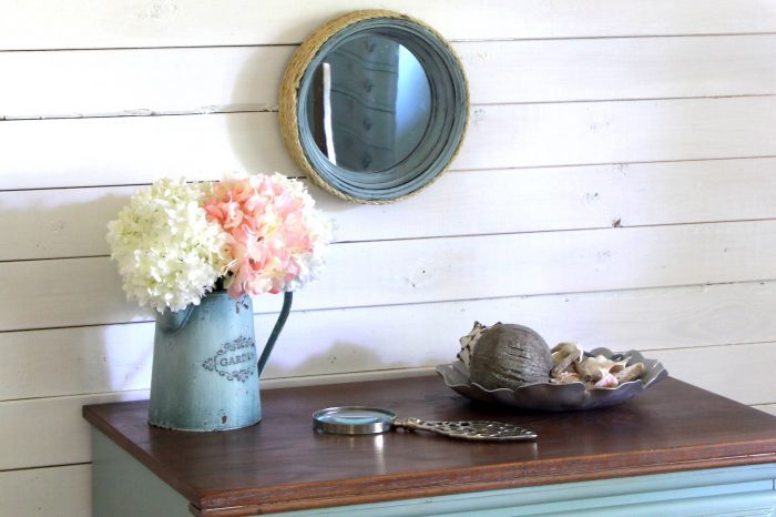 DIY Nautical Porthole Mirrors (thrift store makeover)