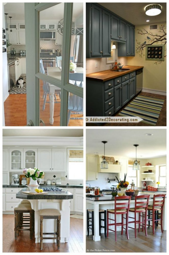 Kitchen makeovers big small artsy chicks rule for Artsy kitchen ideas