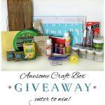 Craft Box Giveaway!! (lots of fun supplies!)